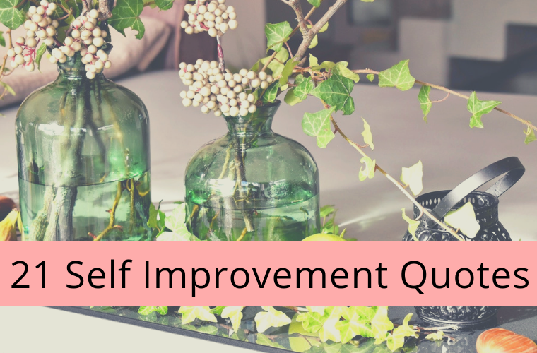 Self Improvement Quotes