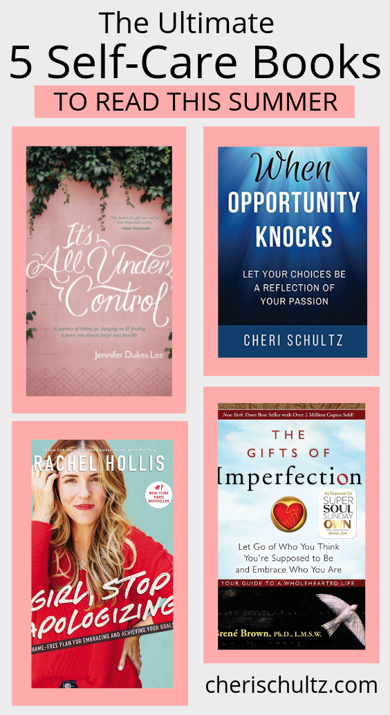 The Ultimate 5 Self-Care Books You Need To Read This Summer